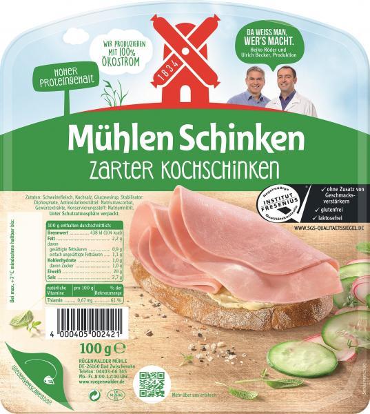 Rügenwalder Mühle Mühlen Schinken zarter Kochschinken