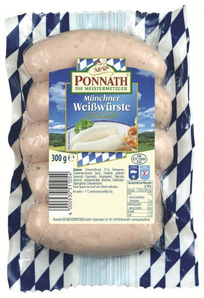 Ponnath Münchner Weißwürste