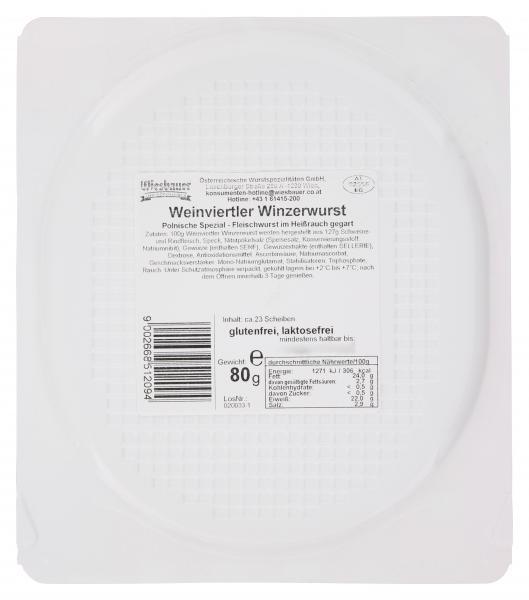 Wiesbauer Weinviertler Winzerwurst