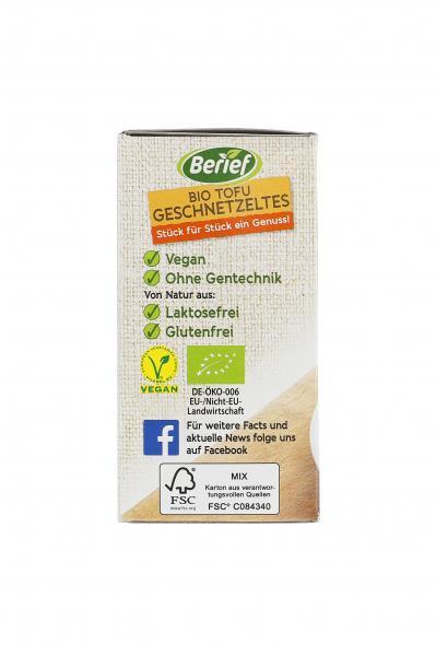 Berief Bio Tofu Geschnetzeltes
