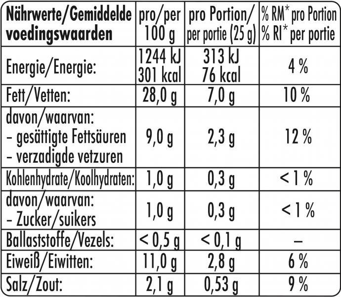 Herta Saftige Fleischwurst über Buchenholz geräuchert