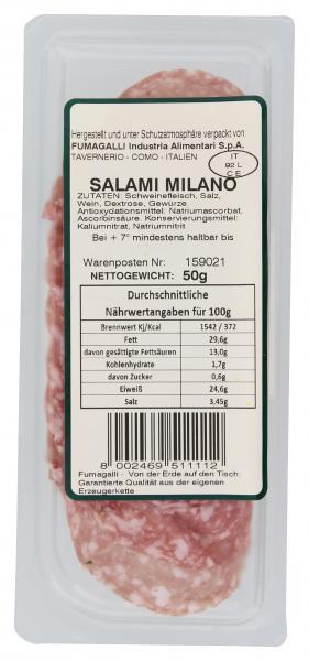 Fumagalli Original italienische Salami Milano