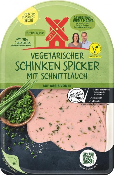 Rügenwalder Mühle vegetarischer Schinken Spicker Schnittlauch