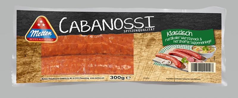 Metten Cabanossi