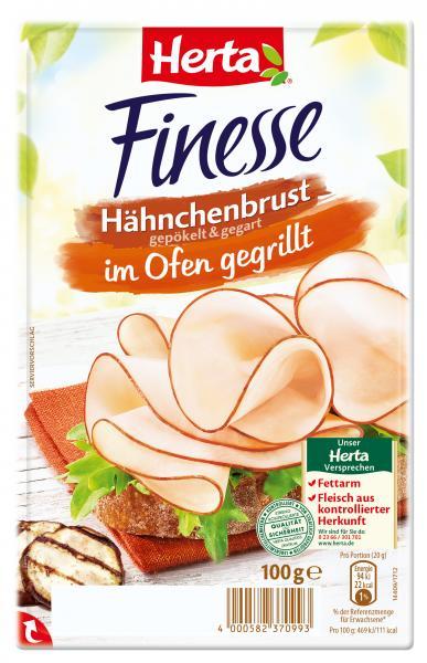 Herta Finesse Hähnchenbrust im Ofen gegrillt