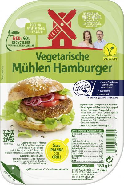 Rügenwalder Mühle Vegetarische Mühlen Hamburger