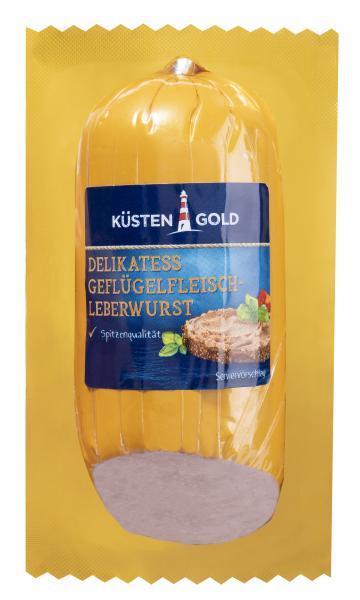 Küstengold Delikatess Geflügel-Fleischleberwurst