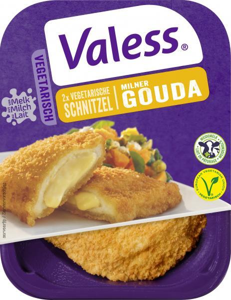 Valess Vegetarische Schnitzel mit Gouda