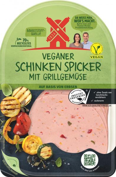 Rügenwalder Mühle Veganer Schinken Spicker mit Grillgemüse