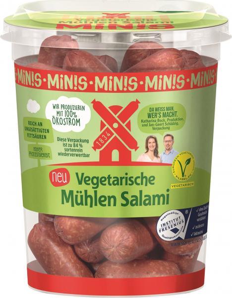 Rügenwalder Mühle Vegetarische Mühlen Salami Minis
