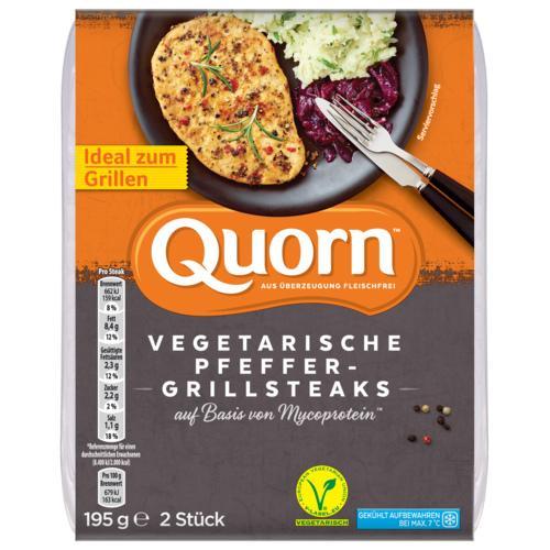 Quorn Pfeffer Grill Steak