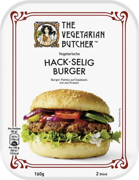The Vegetarian Butcher Vegetarische Hack-selig Burger