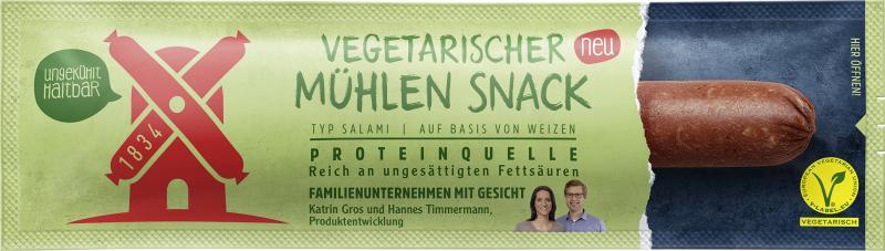Rügenwalder Mühle Vegetarischer Mühlen Snack Typ Salami