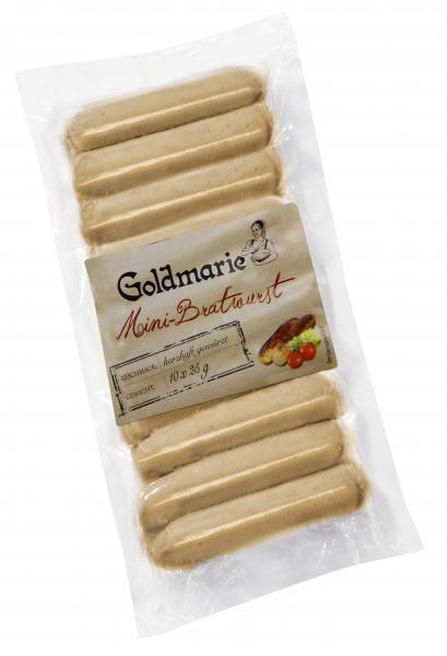 Goldmarie Mini-Bratwurst