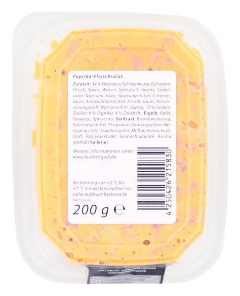 Küstengold Paprika Fleischsalat