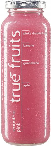 True fruits Smoothie pink