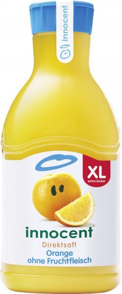 Innocent Orangesaft ohne Fruchtfleisch