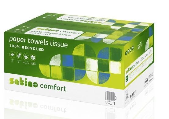 Handtuchpapier Satino Comfort 2lagig grün
