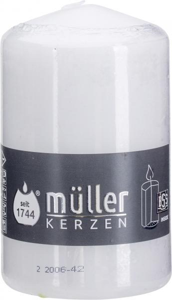 Müller-Kerzen Stumpenkerze 110x70 weiß