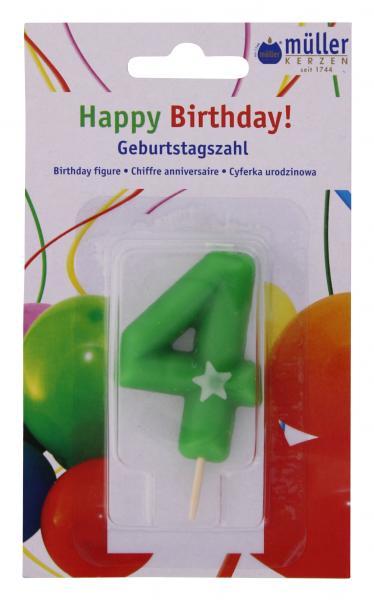 Müller-Kerzen Geburtstagszahl