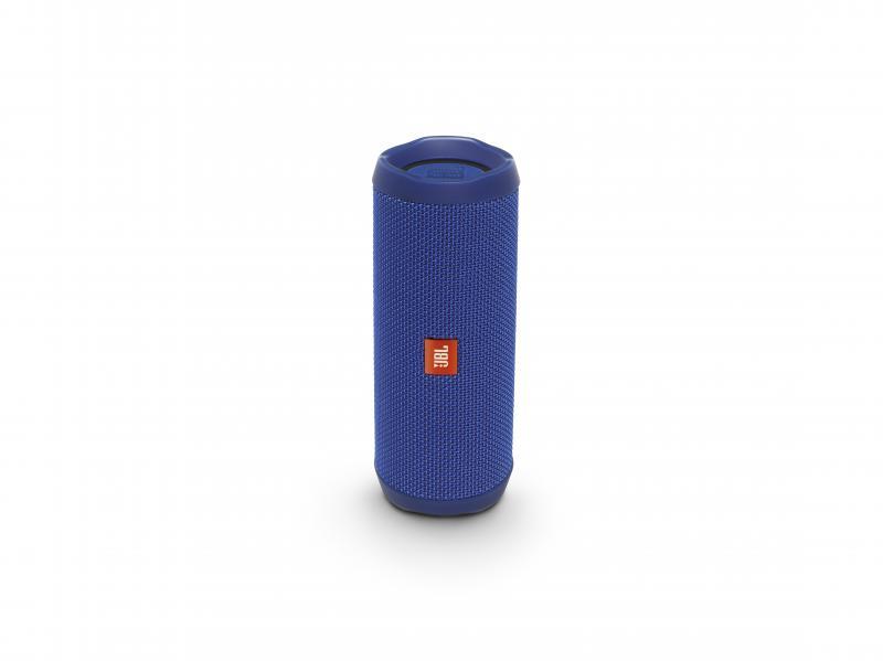 JBL Flip 4 Mobiler Bluetooth-Lautsprecher blau