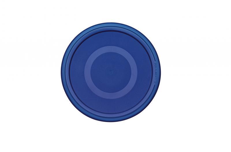 Pyrex Glasbehälter rund 1,6 Liter blau