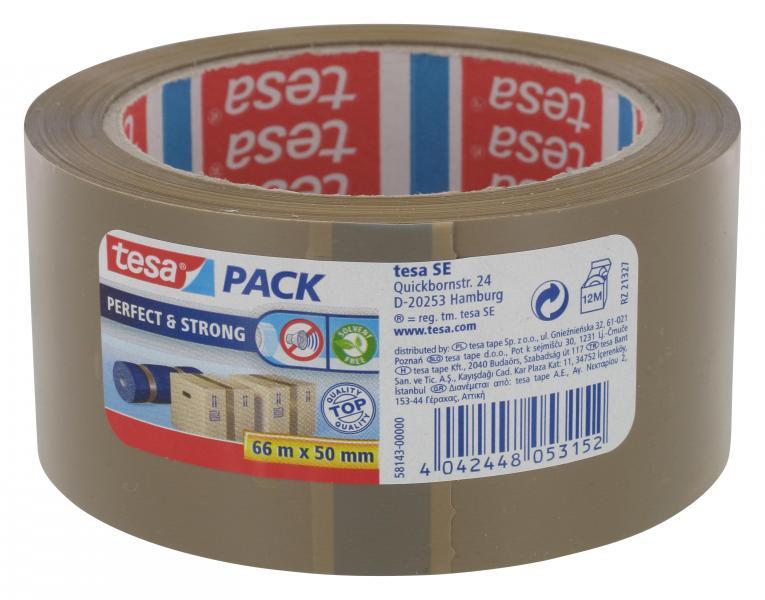 Tesa Pack Perfect & Strong braun