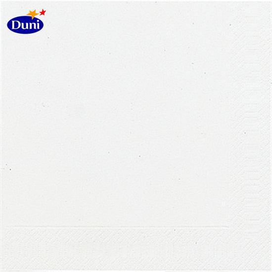 Duni Servietten 33x33cm weiß