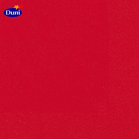 Duni Servietten 33x33cm rot