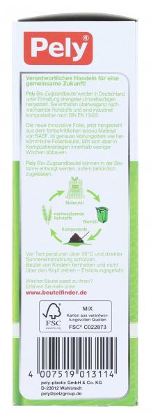 Pely Bio-Zugbandbeutel kompostierbar 35 Liter