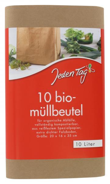 Jeden Tag Bio Müllbeutel 10 Liter