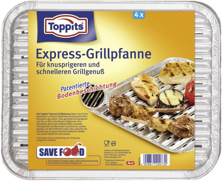 Toppits Hot Grill Pfanne