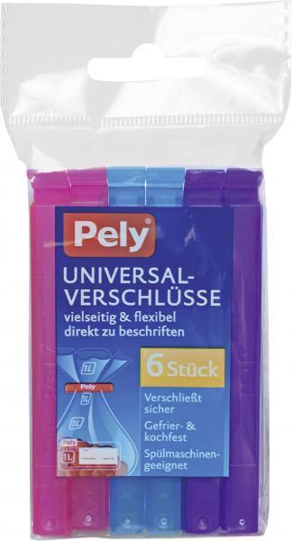 Pely Universal-Verschlüsse