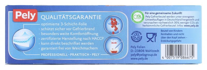 Pely Gefrierbeutel 6 Liter