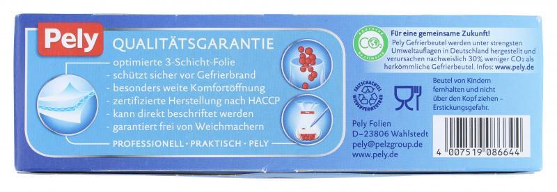 Pely Gefrierbeutel 4 Liter