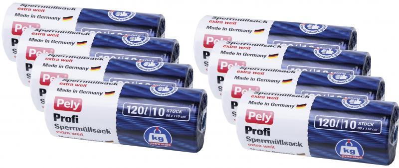 Pely Profi-Sperrmüllsäcke extra weit 120 Liter