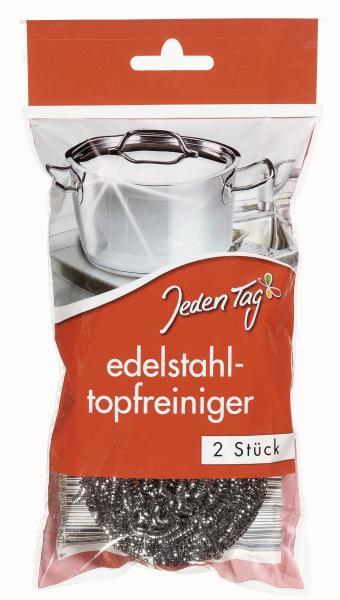 Jeden Tag Edelstahl-Topfreiniger