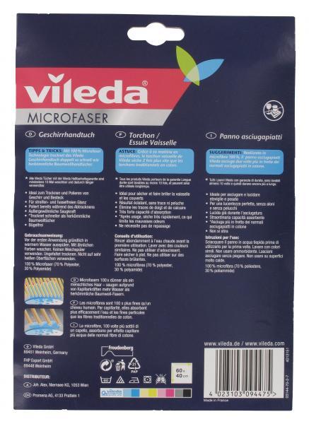 Vileda Microfaser Geschirrhandtuch