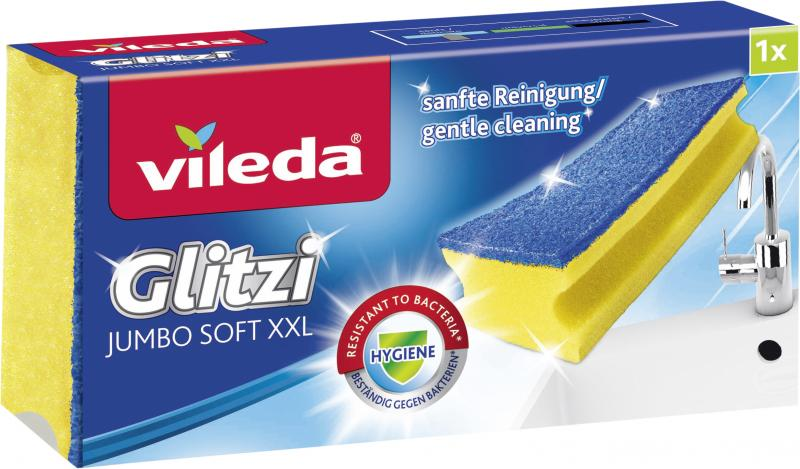 Vileda Glitzi Jumbo sanft Scheuerschwamm