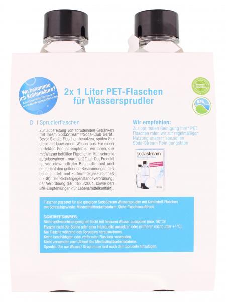Soda Stream Ersatzflaschen (PET) 1 Liter