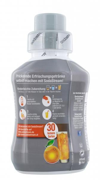 Soda Stream Getränkesirup Orange ohne Zucker