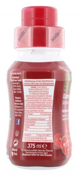 Soda Stream Getränkesirup Schutzengel Cranberry