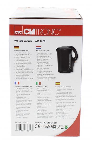 CTC Wasserkocher WK 3462 schwarz