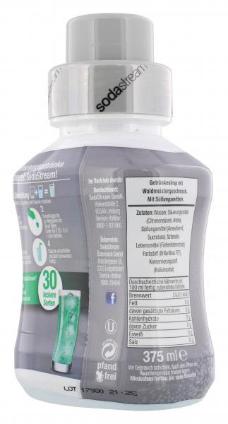 SodaStream Getränkesirup ohne Zucker Waldmeister