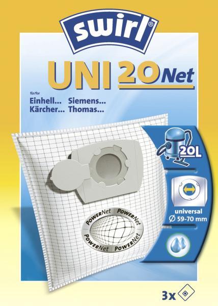Swirl Staubfilterbeutel Uni 20 Net