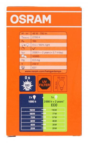 Osram Classic Eco Superstar 46W 230V E27