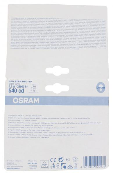 Osram LED Star R50 4,2W 220-240V E27