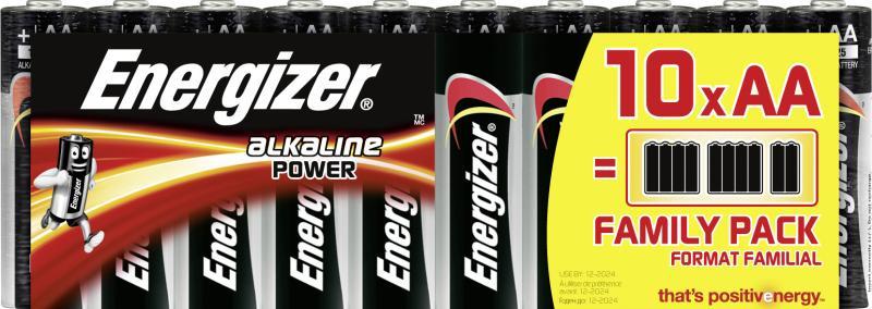 Energizer Alkaline Power Mignon AA
