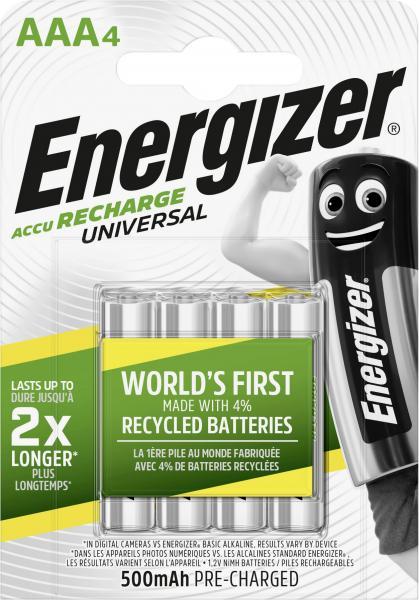 Energizer Akku Universal Micro AAA