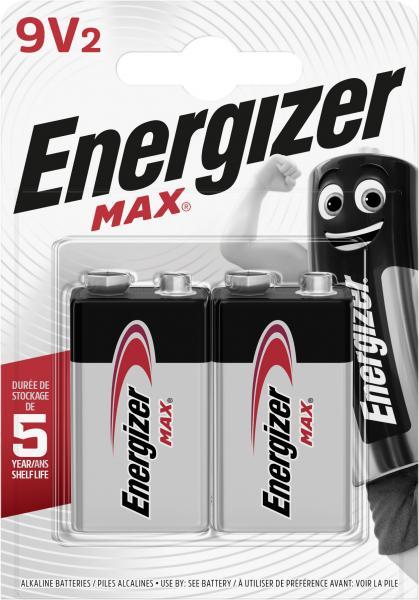 Energizer Max E-Block 9V